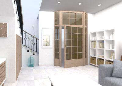 diseño accesible salon
