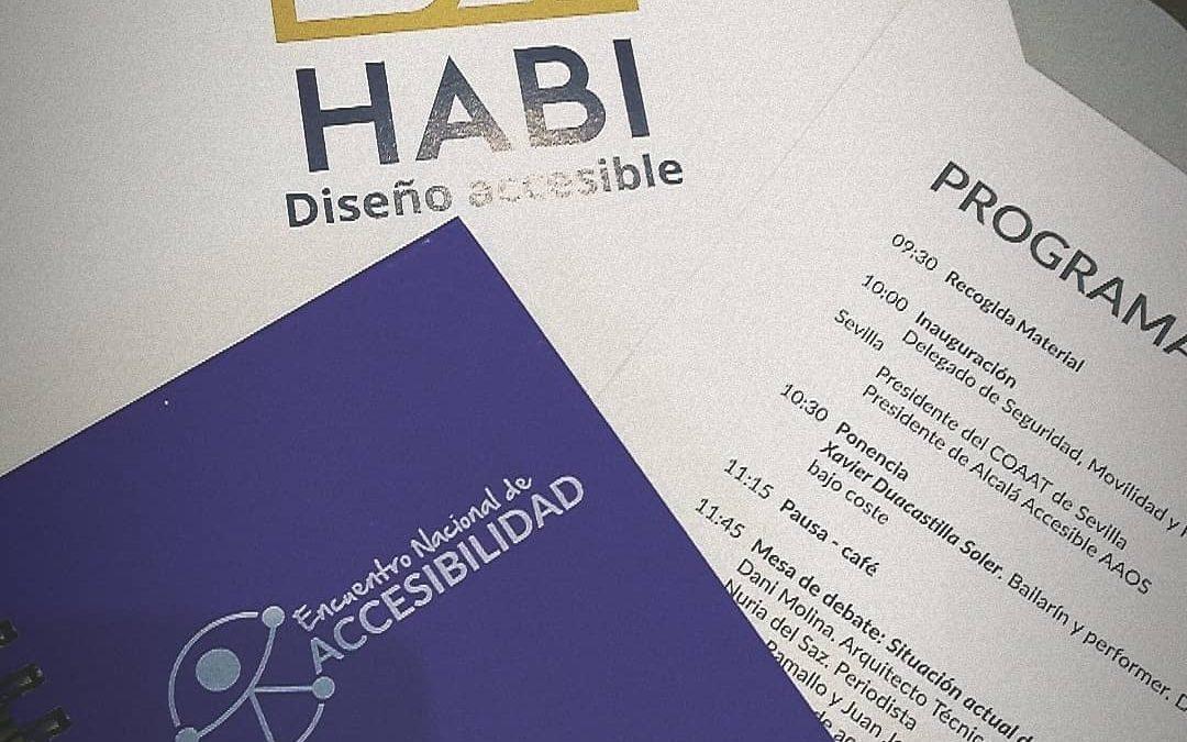 HABI diseño accesible en el Encuentro Nacional de Accesibilidad