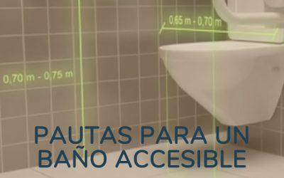 Pautas para un Baño Accesible