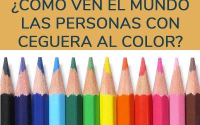 ¿Cómo ven el mundo las personas con ceguera al color?