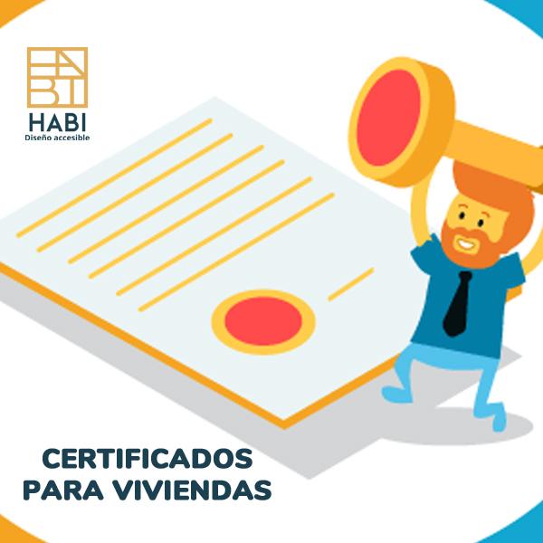 Certificados obligatorios a nivel de vivienda